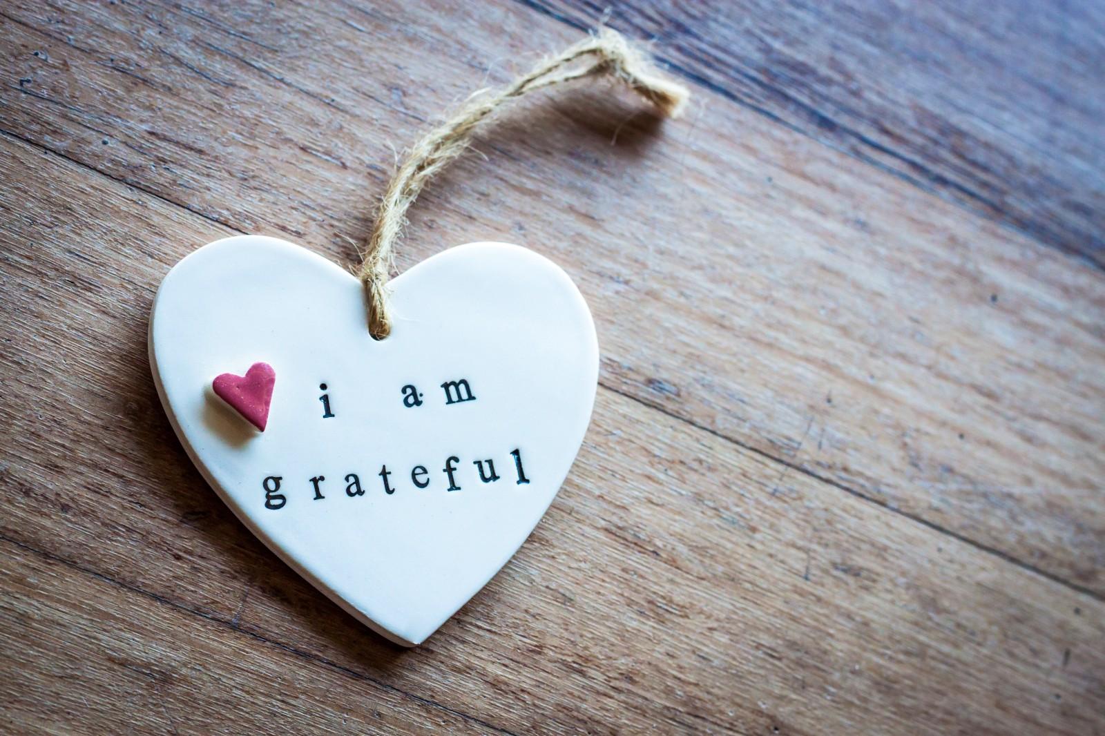 Nella vita con un cuore grato