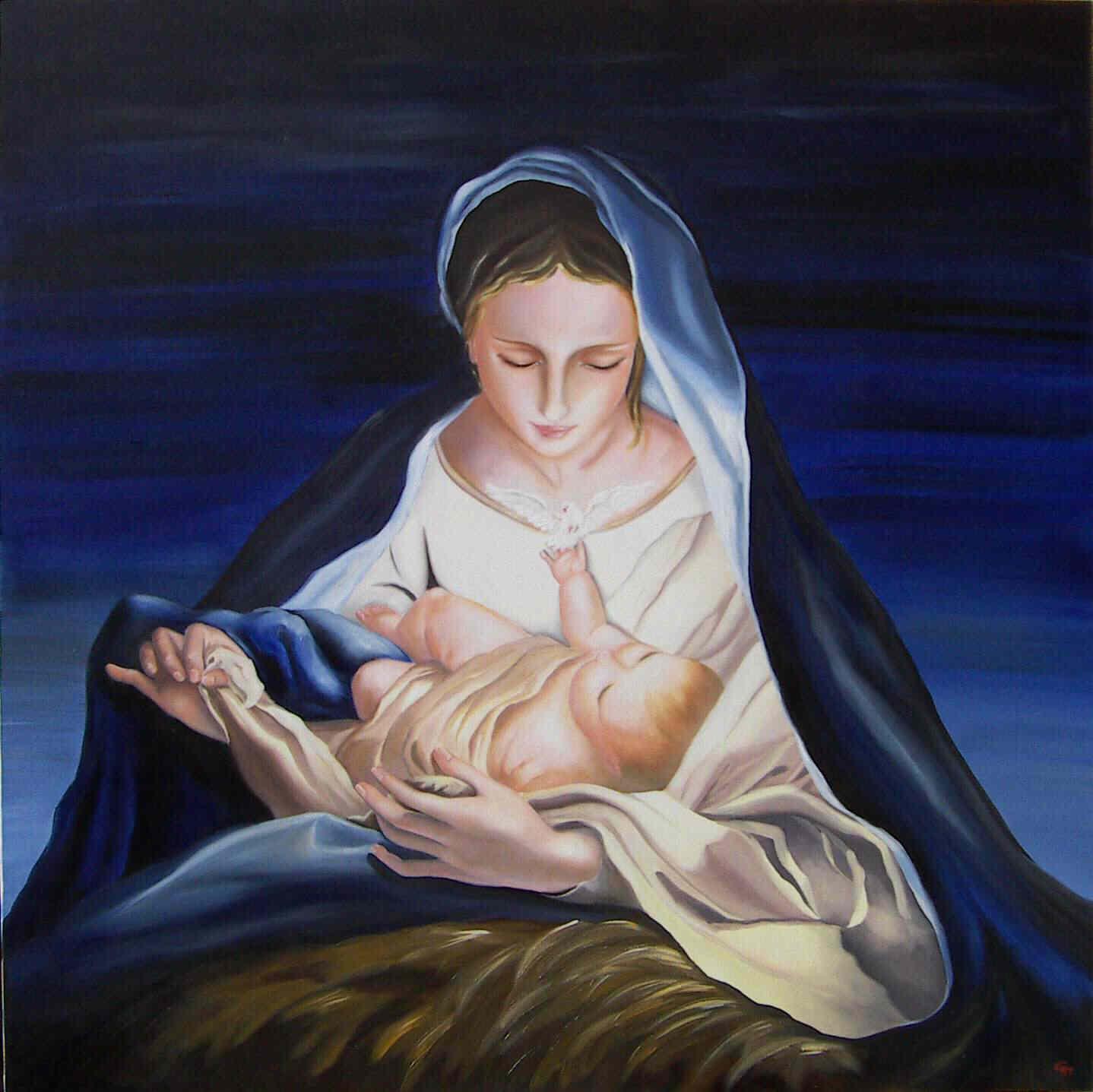 Santa Maria, donna vera, tienici coi piedi per terra e il cuore rivolto al cielo