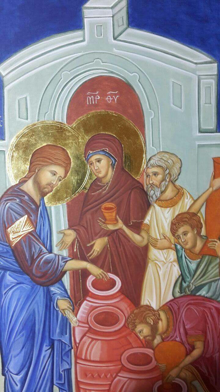 Santa Maria, donna del vino nuovo