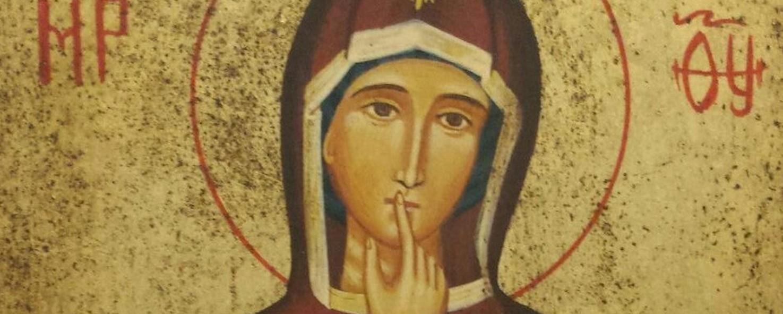 Santa Maria, donna del silenzio e del buon uso della parola