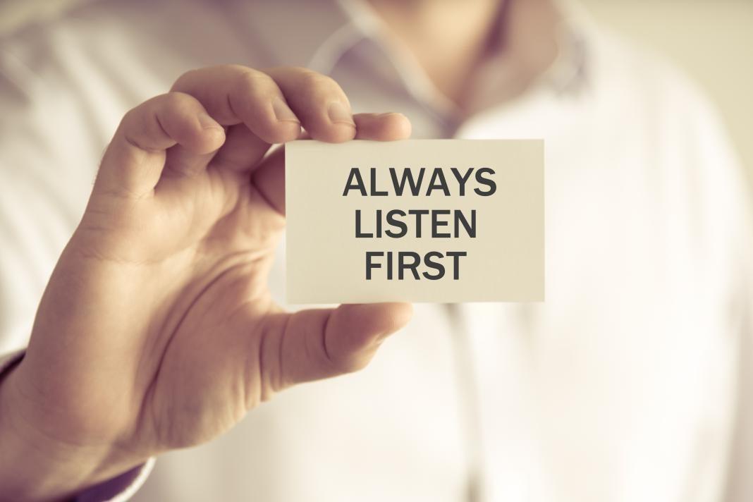 Ascolta e vedrai. Vedi e ascolta: Mercoledì della prima settimana di quaresima