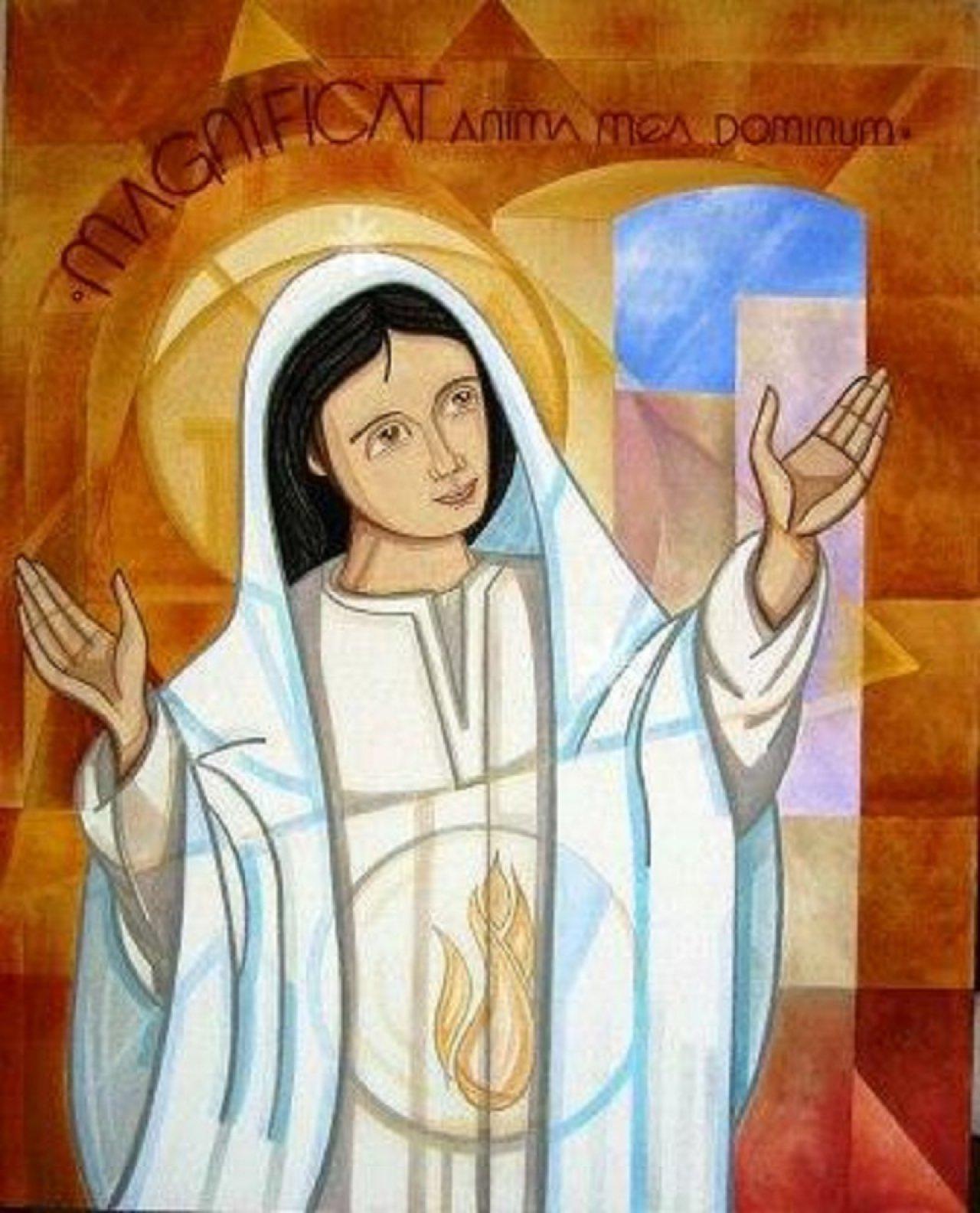 Santa Maria, donna dalla parte di Dio
